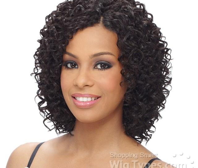 Milky Way Que Human Hair Blend Weave Short Cut Series Beach Curl Pcs