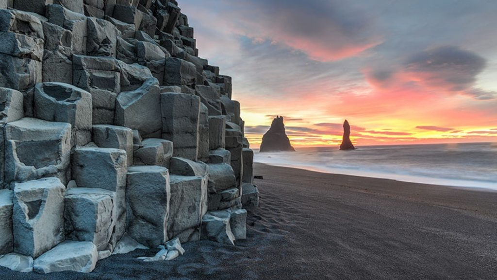 Reynisfjara black sand beach in south Iceland private tour