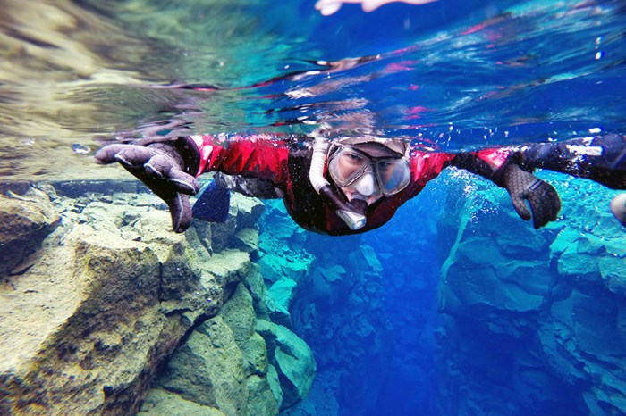 Snorkeling Silfra | Dry Suit