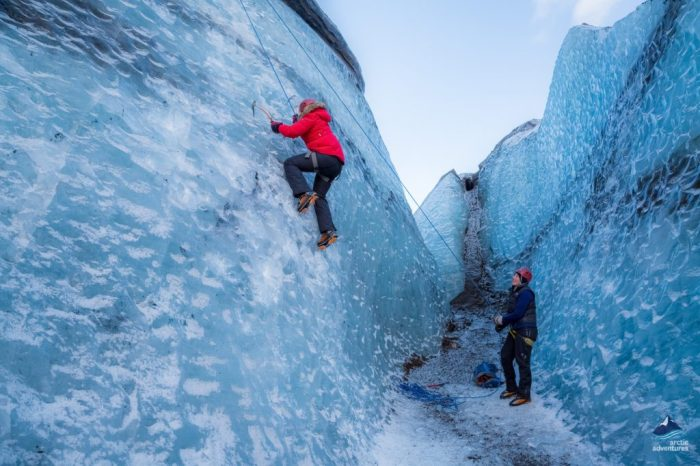 Glacier Hike & Ice Climbing from Reykjavik