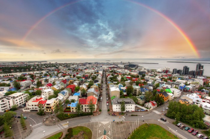 Reykjavik Sightseeing by Air