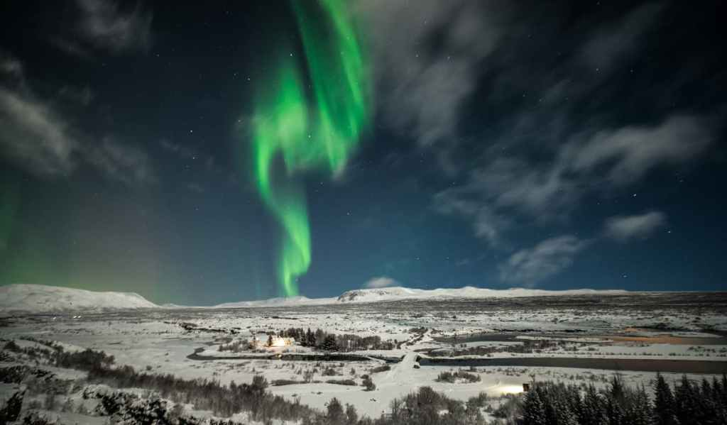 northern lights bus, northern lights, aurora, aurora borealis, when in Iceland, guide to iceland, iceland tours, winter tours, aurora tours, northern lights tours