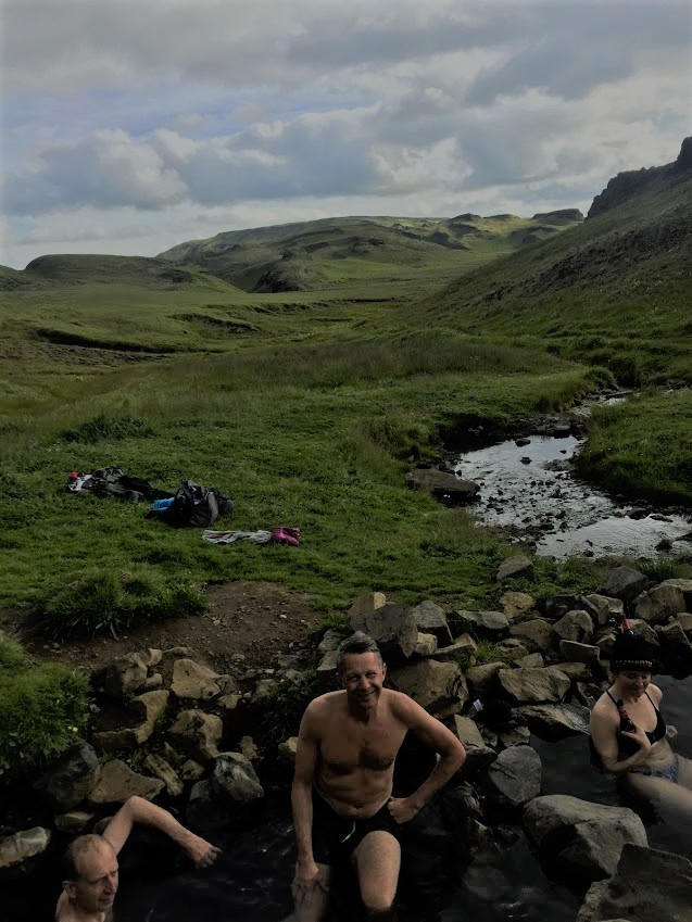 hrunalaug natural hot spring in Iceland