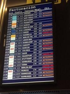 Flugverspätungen von Palma de Mallorca am 10. Oktober 2017