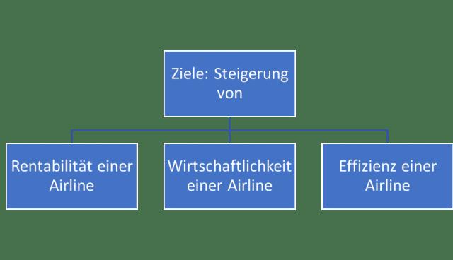 Aviation Business Ziele im Controlling einer Airline