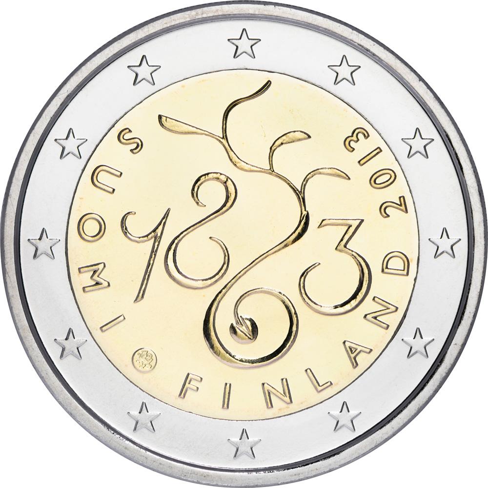 2 Euro Finnland - Der Wert von 2 Euro Münzen