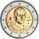 2 Euro Italien 2017 Titus Livius