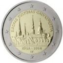 Lettland 2014 2 Euro Riga Kulturhauptstadt