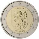 Lettland 2016 2 Euro Vidzeme