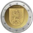 Lettland 2017 2 Euro Latgale