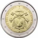 Vatikan 2013 2 Euro Sede vacante