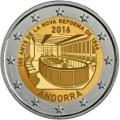 Andorra 2016 2 Euro Neue Reform