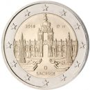 Deutschland 2016 2 Euro Münze Sachsen Dresdner Zwinger