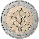Belgien 2006 2 Euro Münze Atomium