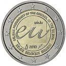Belgien 2010 2 Euro Münze Vorsitz im Rat der Europäischen Union