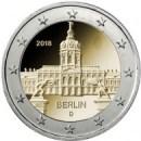 Deutschland 2018 2 Euro Berlin Schloss Charlottenburg