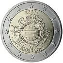 Euroeinführung 2 Euro Estland 2012