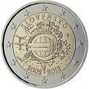 Euroeinführung 2 Euro Slowakei 2012