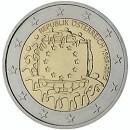 Europaflagge Österreich 2015 Gemeinschaftsserie 2 Euro