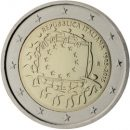 Europaflagge Italien 2015 Gemeinschaftsserie 2 Euro