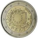 Europaflagge Spanien 2015 Gemeinschaftsserie 2 Euro