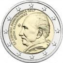 Griechenland 2017 2 Euro Münze Nikos Kazantzakis
