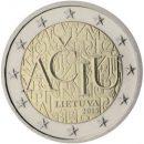 Litauen 2015 2 Euro Münze Litauische Sprache
