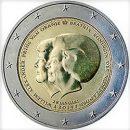Niederlande 2013 2 Euro Münze Abdankung Königin Beatrix Thronwechsel