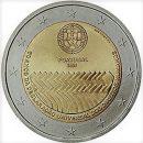 Portugal 2008 2 Euro Münze Menschenrechte