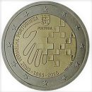 Portugal 2015 2 Euro Münze Jubiläum Rotes Kreuz