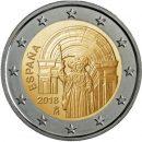 Spanien 2018 2 Euro Altstadt von Santiago de Compostela