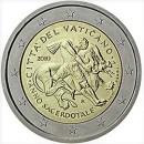 2 Euro Vatikan 2010 Münze Priesterjahr