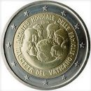 2 Euro Vatikan 2015 Münze 8. Weltfamilientag