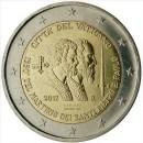 2 Euro Vatikan 2017 Münze Peter und Paul