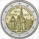 Vatikan 2017 2 Euro Marienerscheinung von Fatima