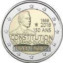 Luxemburg 2018 2 Euro 150 Jahre Verfassung