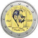 Vatikan 2 Euro 2018 Todestag Padre Pio
