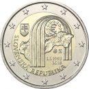 Slowakei 2018 2 Euro 25 Jahre Republik