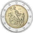 Vatikan 2018 2 Euro Weltkulturerbe