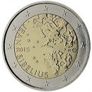 Finnland 2015 2 Euro Münze 150. Geburtstag des Komponisten Jean Sibelius