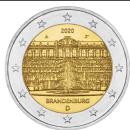Deutschland 2020 2 Euro Brandenburg