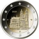 Deutschland 2021 2 Euro Sachsen Anhalt