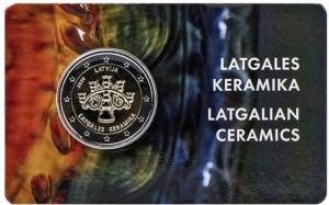 Lettland 2020 2 Euro Keramik in der Coincard