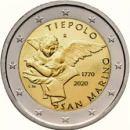San Marino 2020 2 Euro Tiepolo