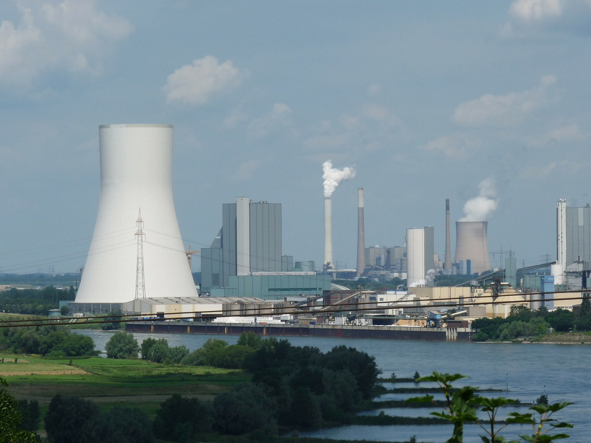 Kraftwerk statt alternative Energien