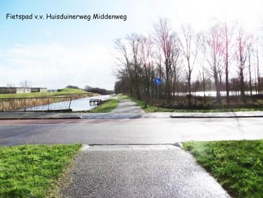6 -Fietspad v.v. Huisduinerweg Middenweg