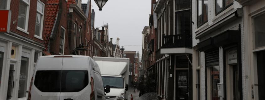 overlast vrachtwagens binnenstad