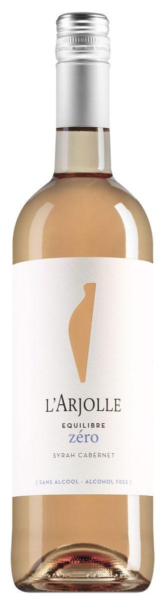 L'Arjolle Equilibre Zéro Syrah-Cabernet Rosé alcoholvrij