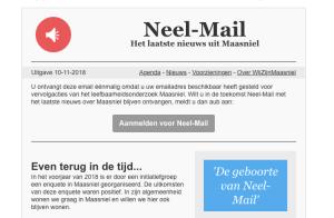 Nieuwsbrief Neel-Mail