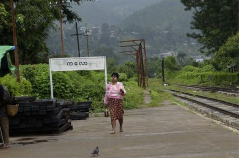 Station in Kalaw